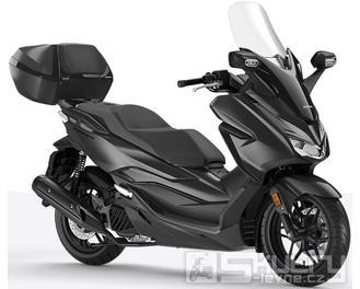 Honda Forza 125 ABS + Smart Key Horní Kufr 45L - barva černá