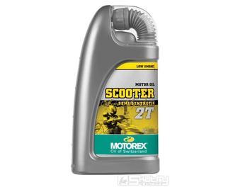 Motorový olej Motorex Scooter 2T - objem 1 l