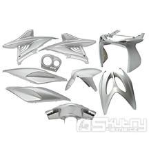 Kapotáž Aerox Nitro - 9 dílů - šedá