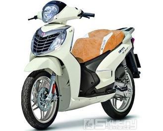 Malaguti Centro SL 50 - pozastavená výroba - barva bílá