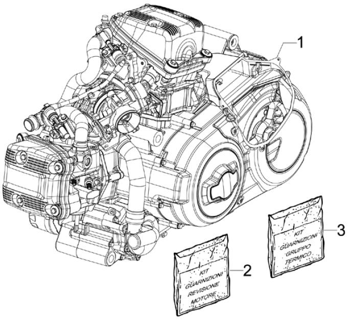 1.02 Motor - Gilera GP 800 2009 (edice 100. výročí - ZAPM5510...)