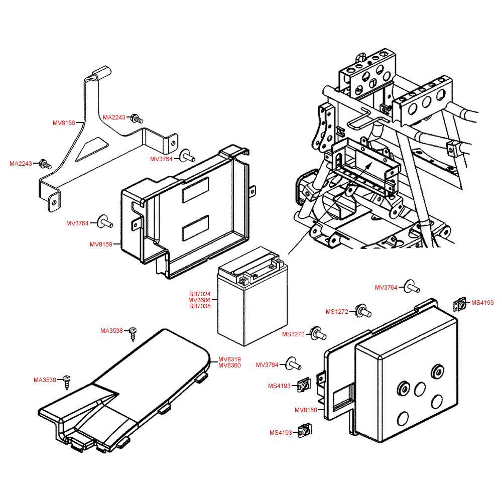 Akumulátor - Kymco MXU 450i LC90AE