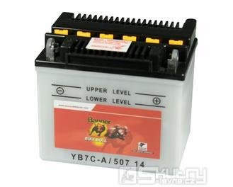 Olověná baterie Banner YB7C-A