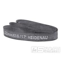 """Gumový pásek Heidenau do ráfku o šířce 22mm pro 16 až 17"""" ráfek"""