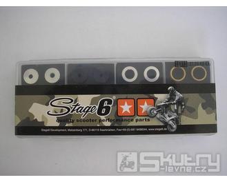 Testovací sada válečků Stage6 16x13mm - gramáž 3.00g / 3.50g / 4.00g / 4.50g