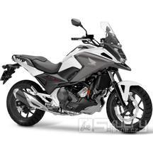 Honda NC750X - barva bílá