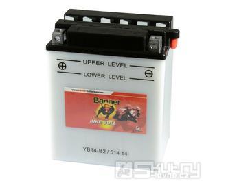 Olověná baterie Banner YB14-B2