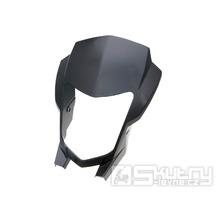 Přední maska světlometu černá pro Aprilia RX a SX od r.v. 11-