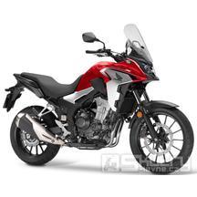 Honda CB500X - barva červená