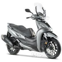 Kymco Agility 300i ABS E5 - barva stříbrná matná