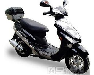 Motorro Speedy E 50 - barva černá