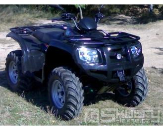 Čtyřkolka New Force HUNTER 500S - barva černá