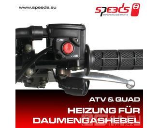 SPEEDS vyhřívání palce – páčky plynu ATV / QUAD