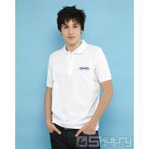 Pánské polo tričko Polini bílé