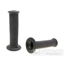 Gripy Domino 1128 On-Road v černém provedení s otevřeným koncem o délce 128mm