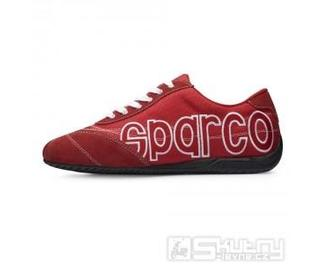 Boty Sparco LOGO - barva červená, velikost 36