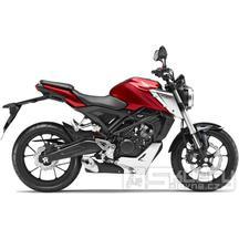 Honda CB125R ABS Neo Sports Café - barva červená