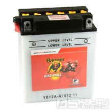 Olověná baterie Banner YB12A-A