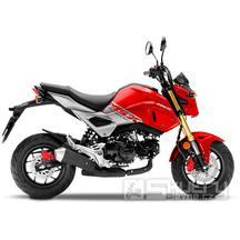 Honda MSX 125 - barva červená
