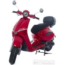 Motorro Insetto 125i + kufr a 3 letá záruka na motor - barva červená