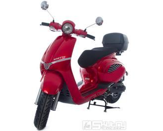Motorro Insetto 125i + kufr - barva červená