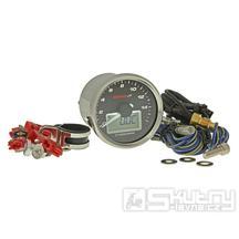 Otáčkoměr KOSO GP Style II - 16.000 ot./min  bílý