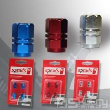 Čepička ventilku Speeds - barva červená