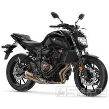 Yamaha MT-07 - barva černá