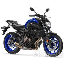 Yamaha MT-07 - barva modrá