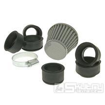 Vzduchový filtr Powerfilter 28-50mm - karbon