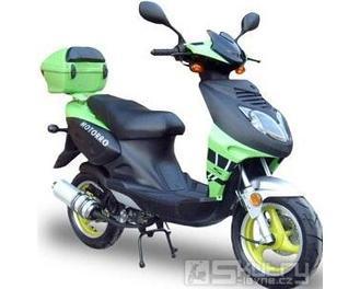 Motorro DESIRE 50 - barva zelená