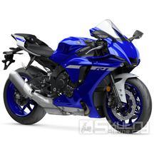Yamaha R1 - barva modrá
