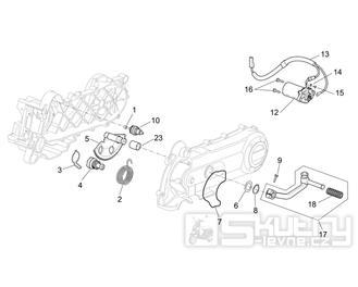 29.30 Startér motoru - Scarabeo 50 4T 2V E2 2006-2009 (ZD4TGA, ZD4TGB)