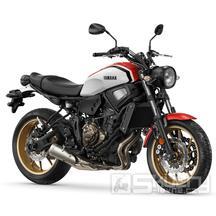 Yamaha XSR700 - barva bílá/červená