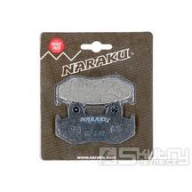 Brzdové destičky Naraku organické pro Honda NES, SES, PES / PS, SH, CH 125, 150 4T