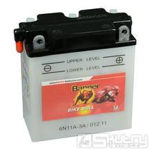Olověná baterie Banner 6N11A-3A