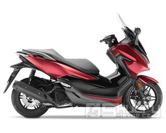 Honda Forza 125 ABS - barva červená