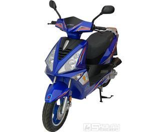 Kingway SWIFT 50 ccm - barva modrá