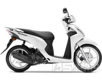 Honda Vision 110 - barva bílá