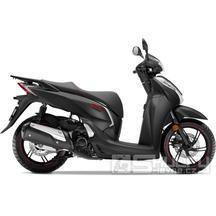 Honda SH 300i - barva černá matná
