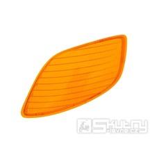 Sklo blinkru přední levé pro Piaggio Zip RST 96-99