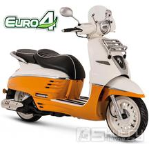 Peugeot Django Evasion 125i E4 - barva oranžová