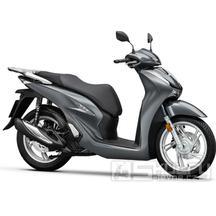 Honda SH 125i ABS + Smart top Box - barva šedá