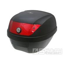 Kufr Rome 28 litrů - červená odrazka