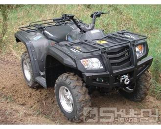 Hisun 500 ccm Dominator II 4x4 - barva maskáčová