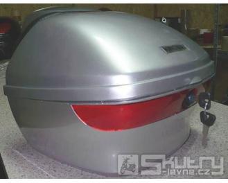 Originál kufr Kingway - barva stříbrná, stav poskládaný
