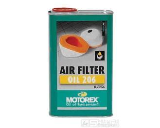 Péče o vzduchové filtry Motorex Air Filter Oil 206 - objem 1 l