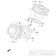 02 Válec - Hyosung GT 650 N (Naked)