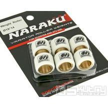 Válečky variátoru Naraku HD-teflon - 18x14mm