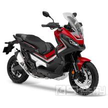 Honda X-ADV 750 - barva červená